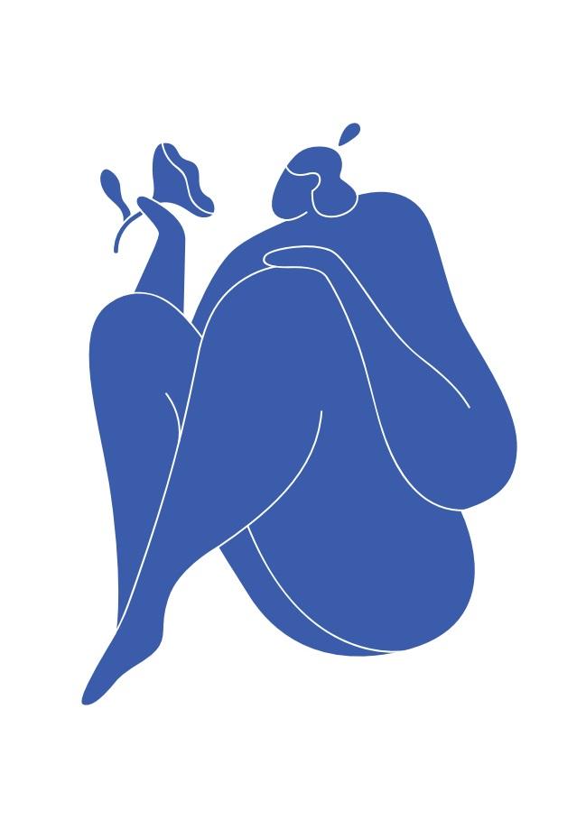 Pôster Matisse Blue VI
