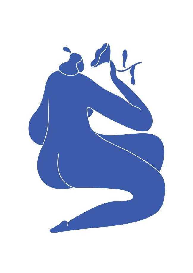 Pôster Matisse Blue II