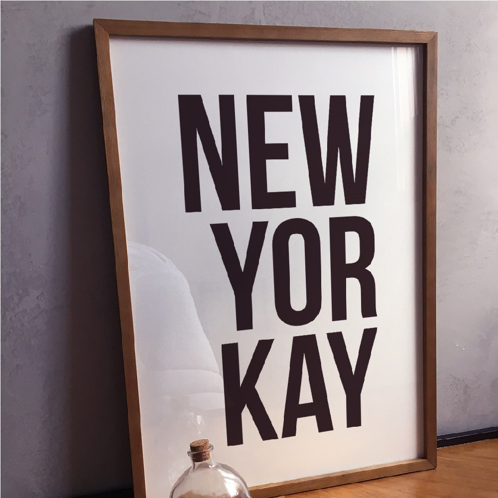 Poster NEWYORKAY A2