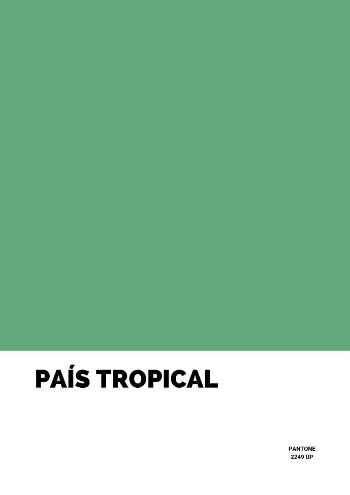 Pôster País Tropical