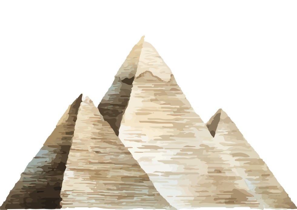 Pôster Pirâmides de Gizé