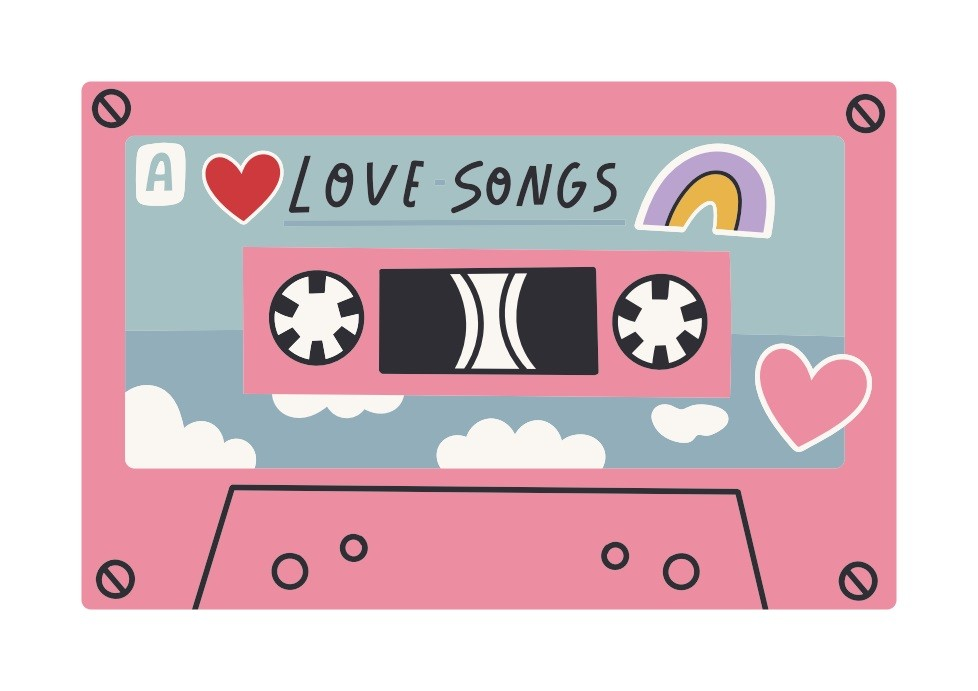 Pôster Playlist - Love Songs