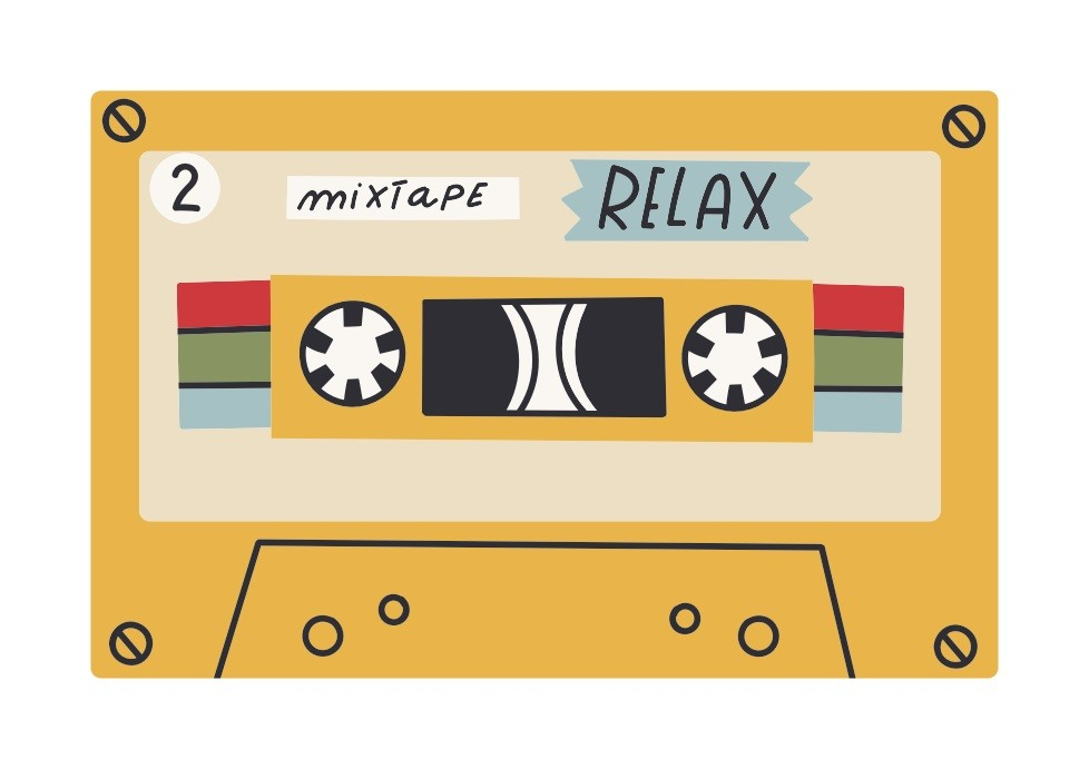 Pôster Playlist - Mixtape Relax