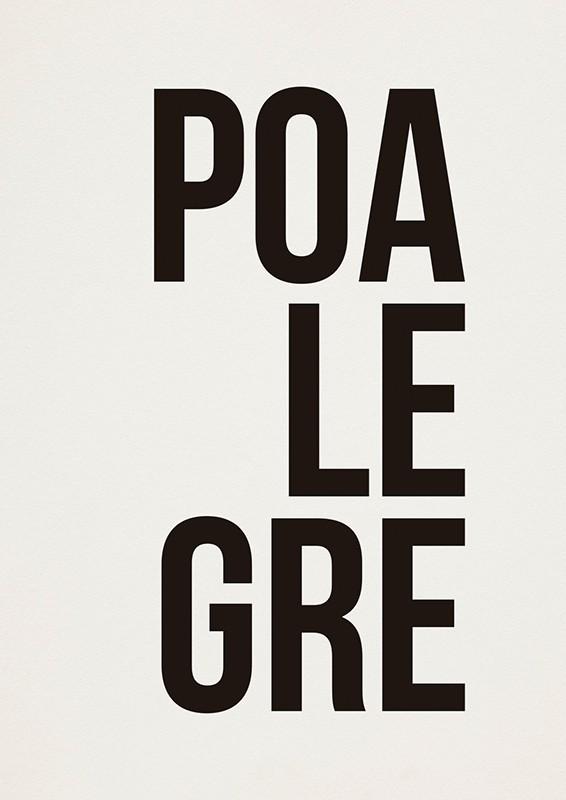 Poster POALEGRE A2