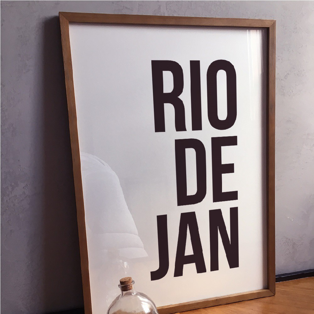 Poster RIODEJAN A2