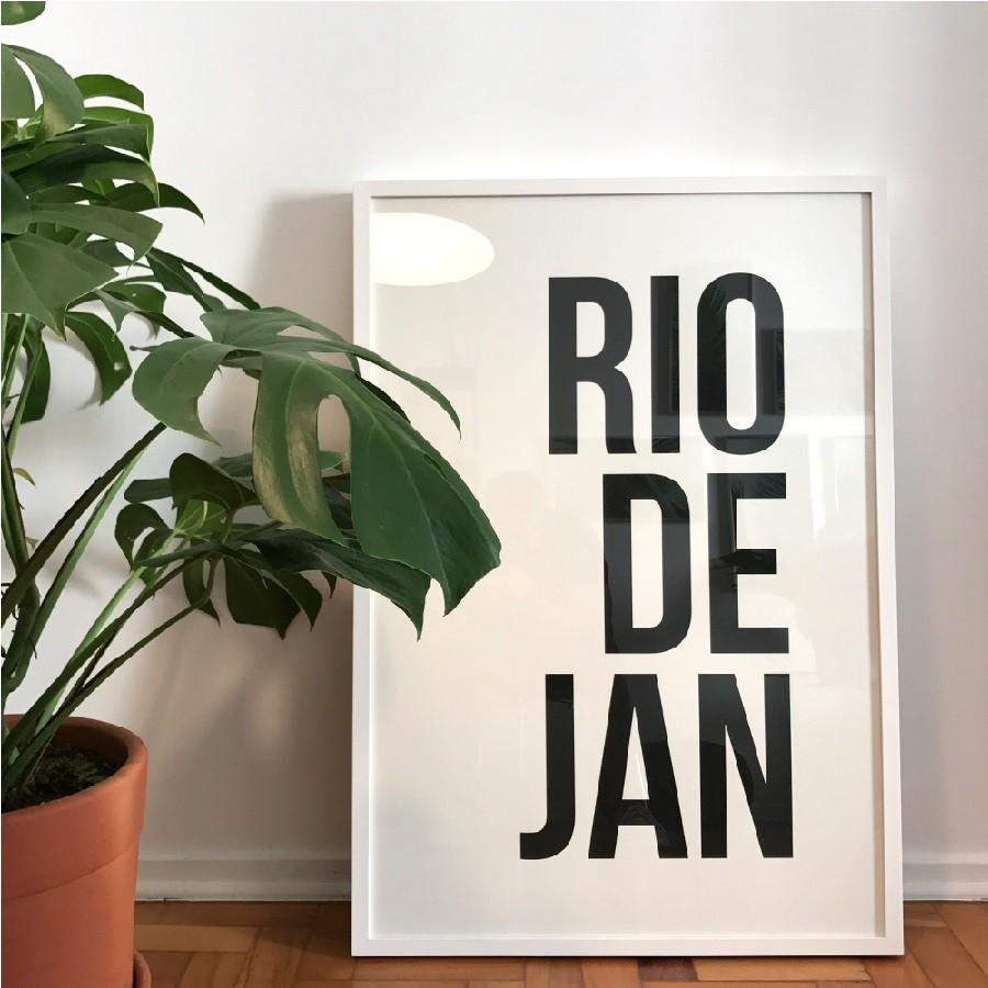 Poster RIODEJAN - G