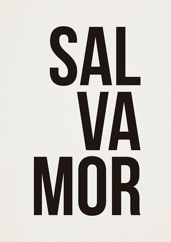Poster SALVAMOR - G