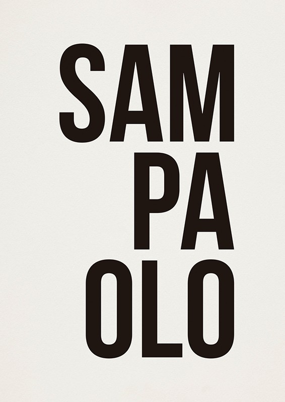 Poster SAMPAOLO A2