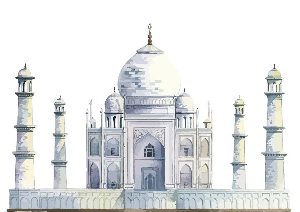 Pôster Taj Mahal