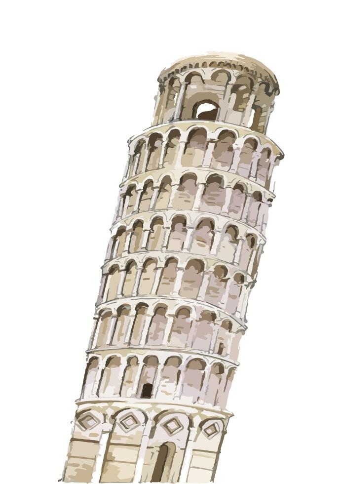 Pôster Torre de Pisa