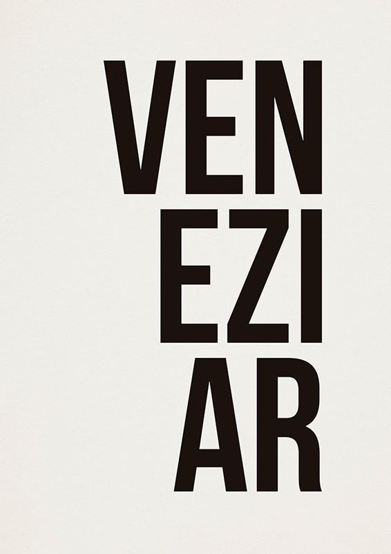 Poster VENEZIAR A2