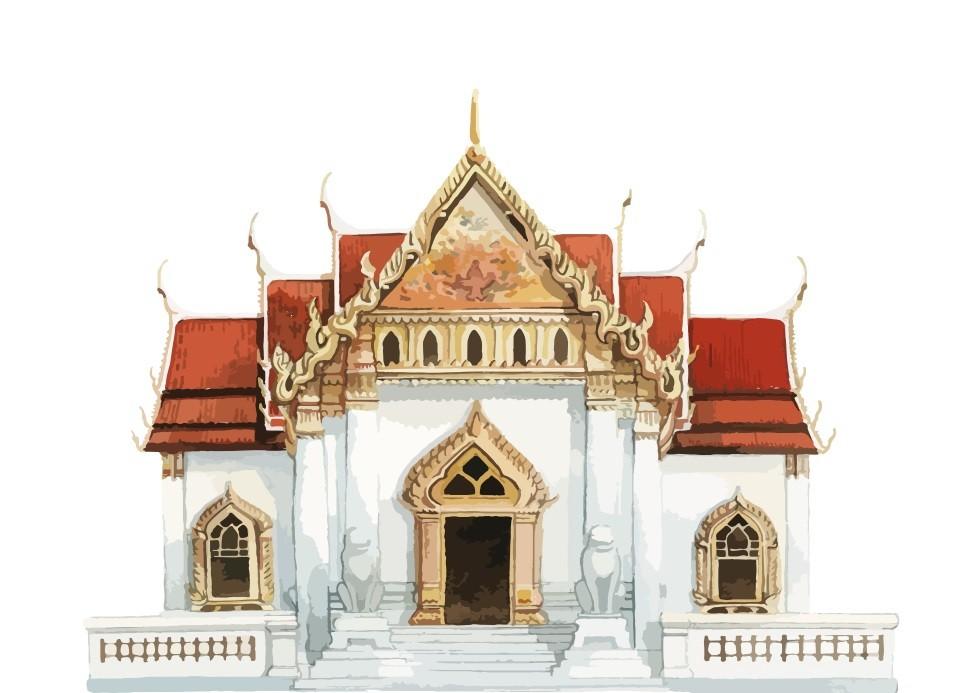 Pôster Wat Benchamabophit Dusitvanaram