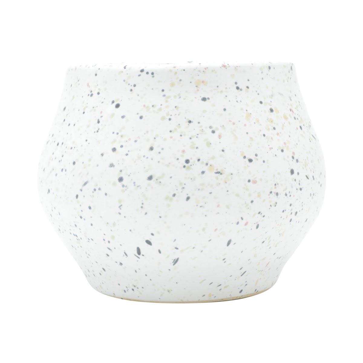 Vaso Cerâmica Branco