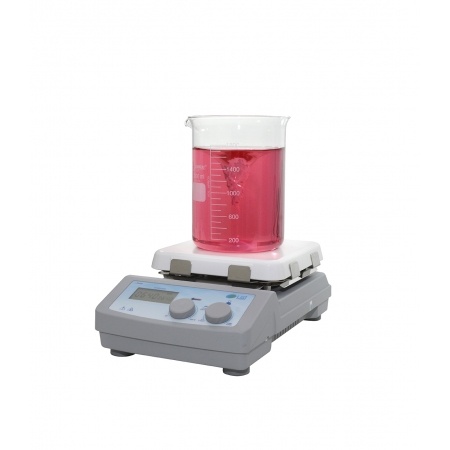 AGITADOR MAGNETICO COM AQUECIMENTO DIGITAL  20 L - LGI SCIENTIFIC - Cód. LGI-MSH-H550PRO