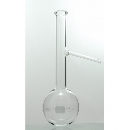 BALAO DESTILACAO SAIDA LATERAL 500 ML - Laborglas - Cód. 9165344