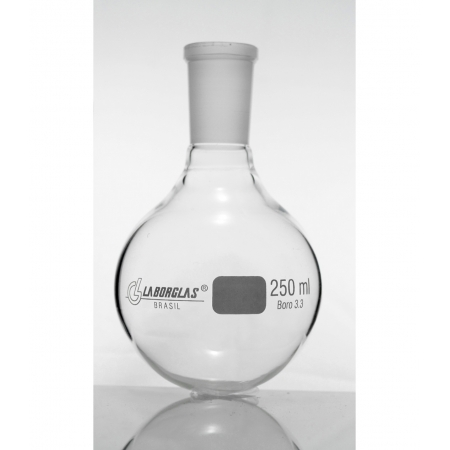 BALAO FDO. REDONDO C/ JUNTA 100 ML - Laborglas - Cód. 91721241