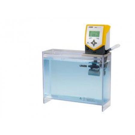 Banho termostático Eco Gold com cuba transparente - 15  litros - LAUDA - Cód. ET15G