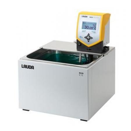 Banho termostático Eco Silver com cuba - 12 a 16 litros - LAUDA - Cód. E15S