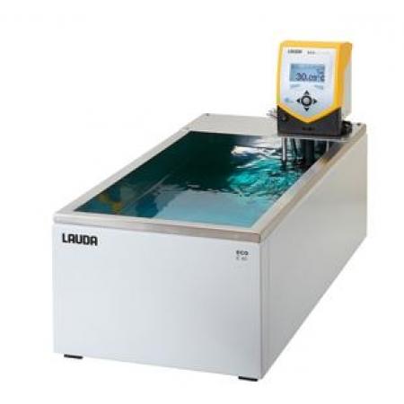Banho termostático Eco Silver com cuba - 32 a 40 litros - LAUDA - Cód. E40S