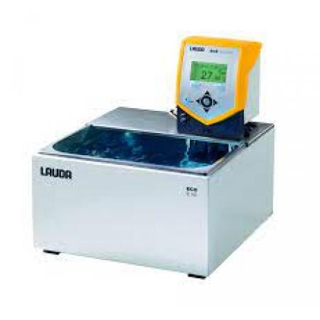 Banho termostático Eco Silver com cuba - 7,7 a 11 litros - LAUDA - Cód. E10S