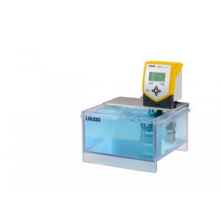 Banho termostático Eco Silver com cuba transparente - 9,5 a 12 litros - LAUDA - Cód. ET12S