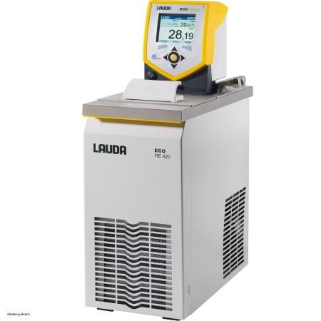 Banho termostático linha Gold - Faixa de trabalho -20 a 200°C - 3,3 a 4 litros - LAUDA - Cód. RE420G