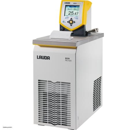 Banho termostático linha Gold - Faixa de trabalho -20 a 200°C - 4,6 a 5,7 litros - LAUDA - Cód. RE620G