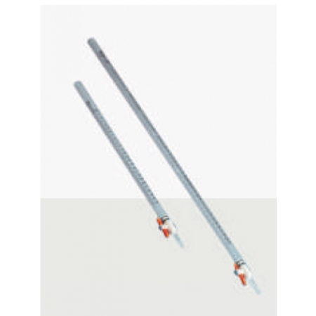 Bureta graduada em PVC / PMP / FEP 25 mL - Kartell - Cód. 9931814