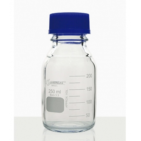 Frasco Reagente com Rosca e Tampa GL 32 de 50 mL - Laborglas - 91801175