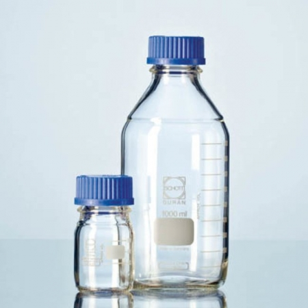 Frasco Reagente Tampa Azul 3500 ml - Schott - Cód. 21801695