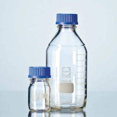 Frasco Reagente Tampa Azul 500 ml - Schott - Cód. 21801445
