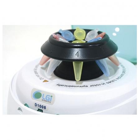 MICROCENTRIFUGA TAMPA VERDE 7000 RPM - LGI SCIENTIFIC - Cód. LGI-MC-1008G