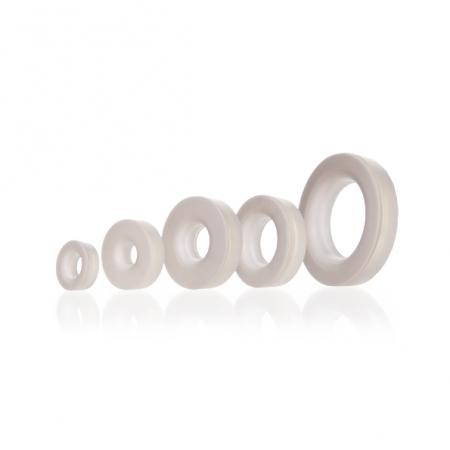 SEPTO DE SILICONE COM FURO GL 25 22x10mm - Schott - Cód. 2923710