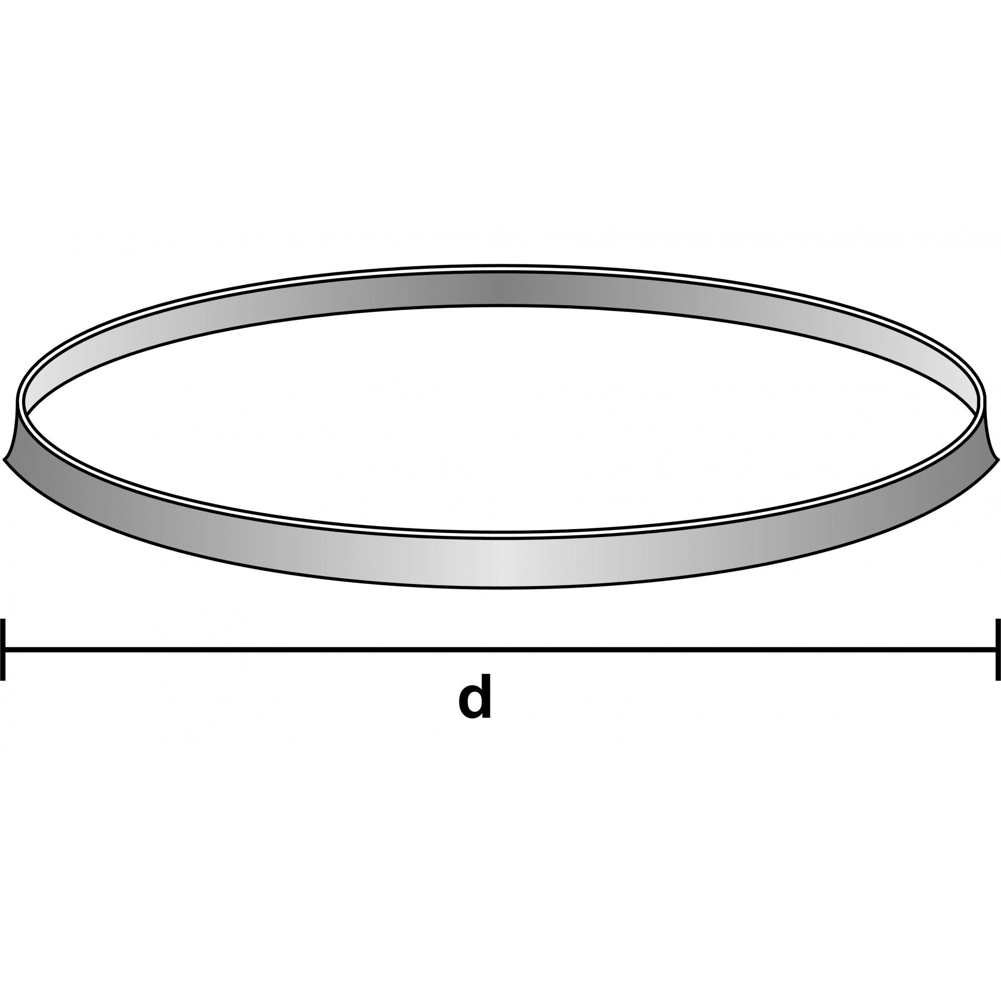 ANEL ORING EM POLIPROPILENO AZUL GL 45 - Laborglas - Cód. 9924228