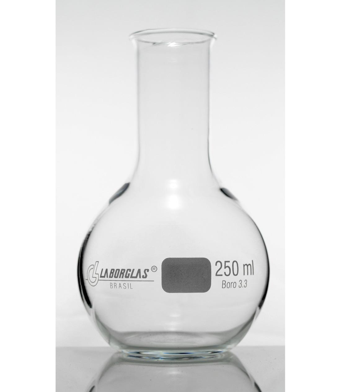 BALAO FDO. CHATO 2000 ML - Laborglas - Cód. 9171164