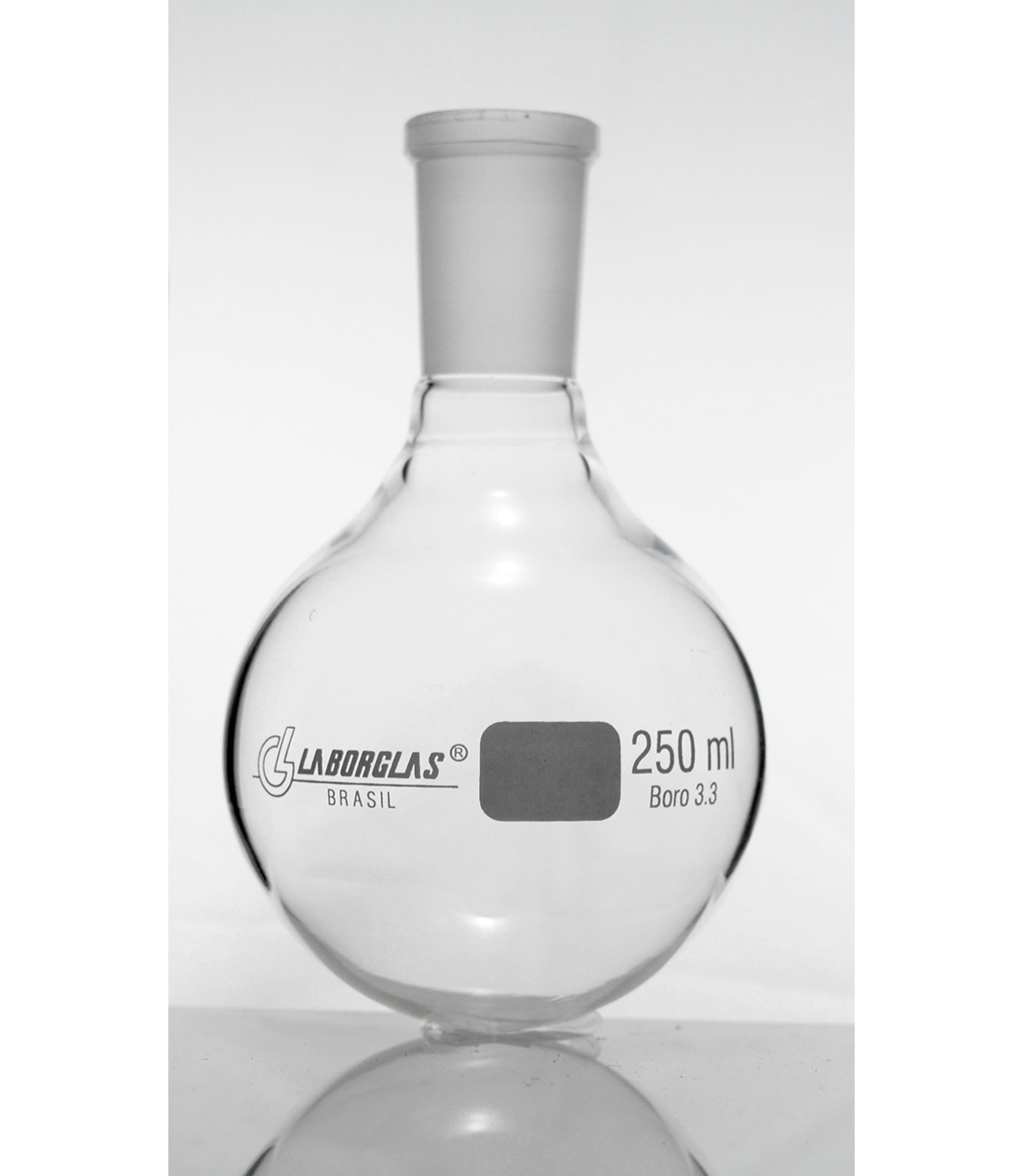 BALAO FDO. REDONDO C/ JUNTA 1000 ML - Laborglas - Cód. 91721541
