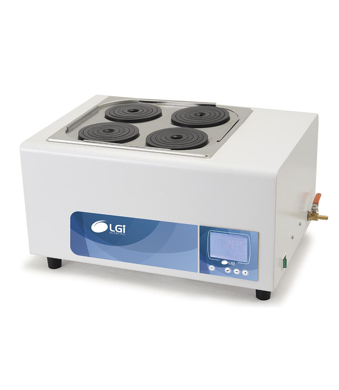 BANHO MARIA DIGITAL - 19,5L 4 BOCAS - 110V - LGI SCIENTIFIC - Cód. LGI-WB-2-110