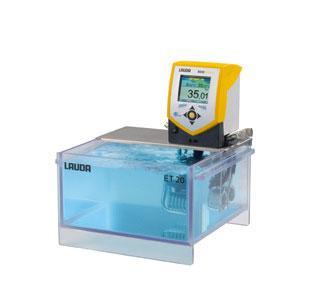 Banho termostático Eco Gold com cuba transparente - 20 litros - LAUDA - Cód. ET20G