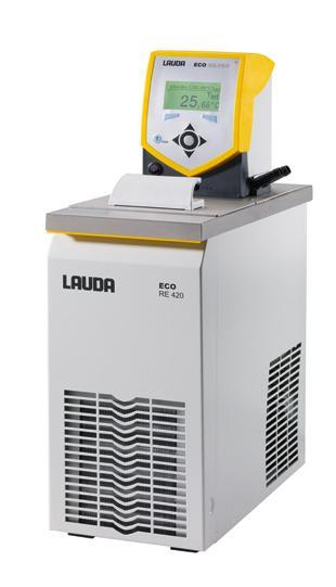 Banho termostático - Faixa de trabalho -20 a 200°C - 3,3 a 4 litros - LAUDA - Cód. RE420S
