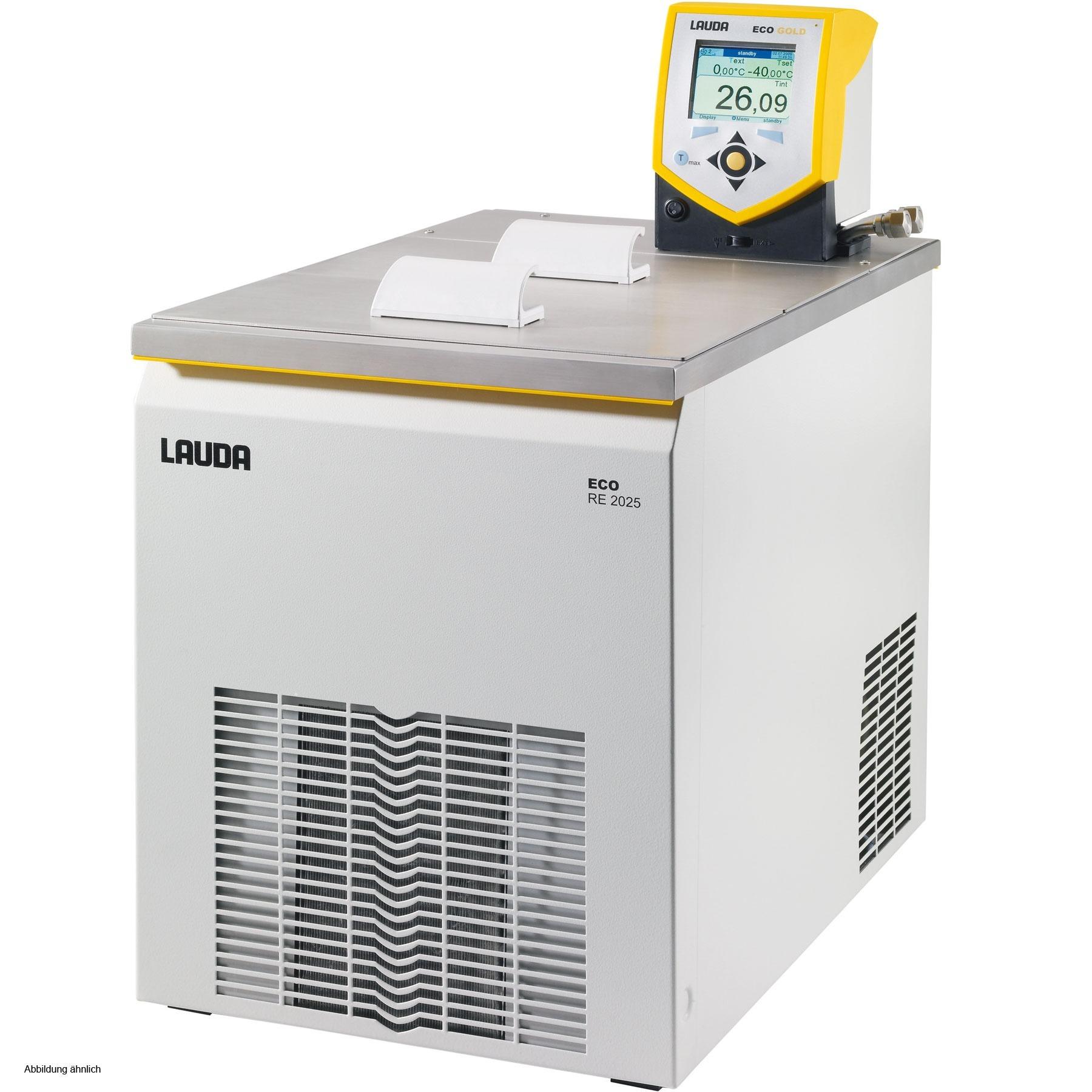 Banho termostático linha Gold - Faixa de trabalho -25 a 200°C - 14 a 20 litros - LAUDA - Cód. RE2025G