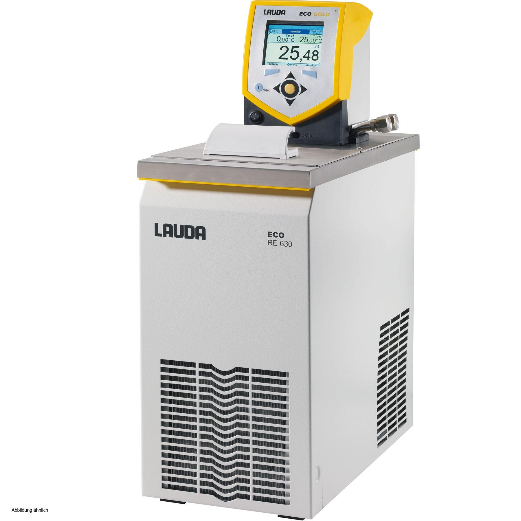Banho termostático linha Gold - Faixa de trabalho -30 a 200°C - 4,6 a 5,7 litros - LAUDA - Cód. RE630G