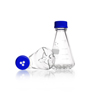 ERLENMEYER COM DEFLETORES, ROSCA GL45 500 ML - Schott - Cód. 21283445
