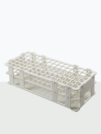 Estante para tubo de ensaio em PP capacidade 60 tubos de 16 mm - Laborglas - Cód. 9930116