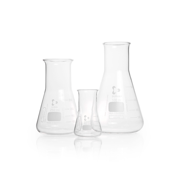 FRASCO ERLENMEYER BOCA LARGA 300 ML - Schott - Cód. 2122639