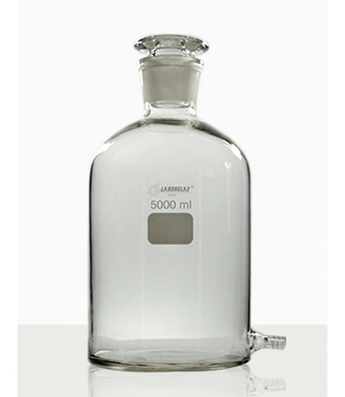 FRASCO MARIOTTE C/ OLIVA DE VIDRO 2000 ML - Laborglas - Cód. 9470863