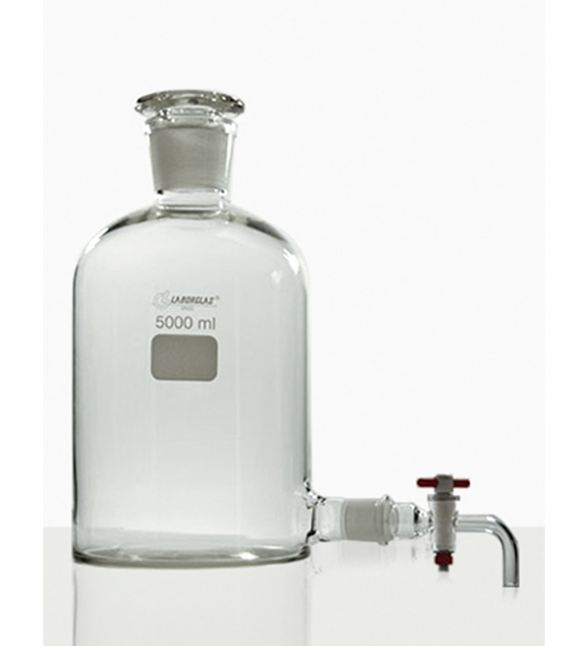 FRASCO MARIOTTE C/ TORN. PTFE 10000 ML - Laborglas - Cód. 9470386