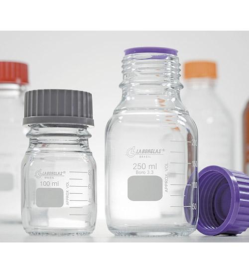 Frasco Reagente com Rosca e Tampa GL 45 de 10000 mL - Laborglas - 91801865