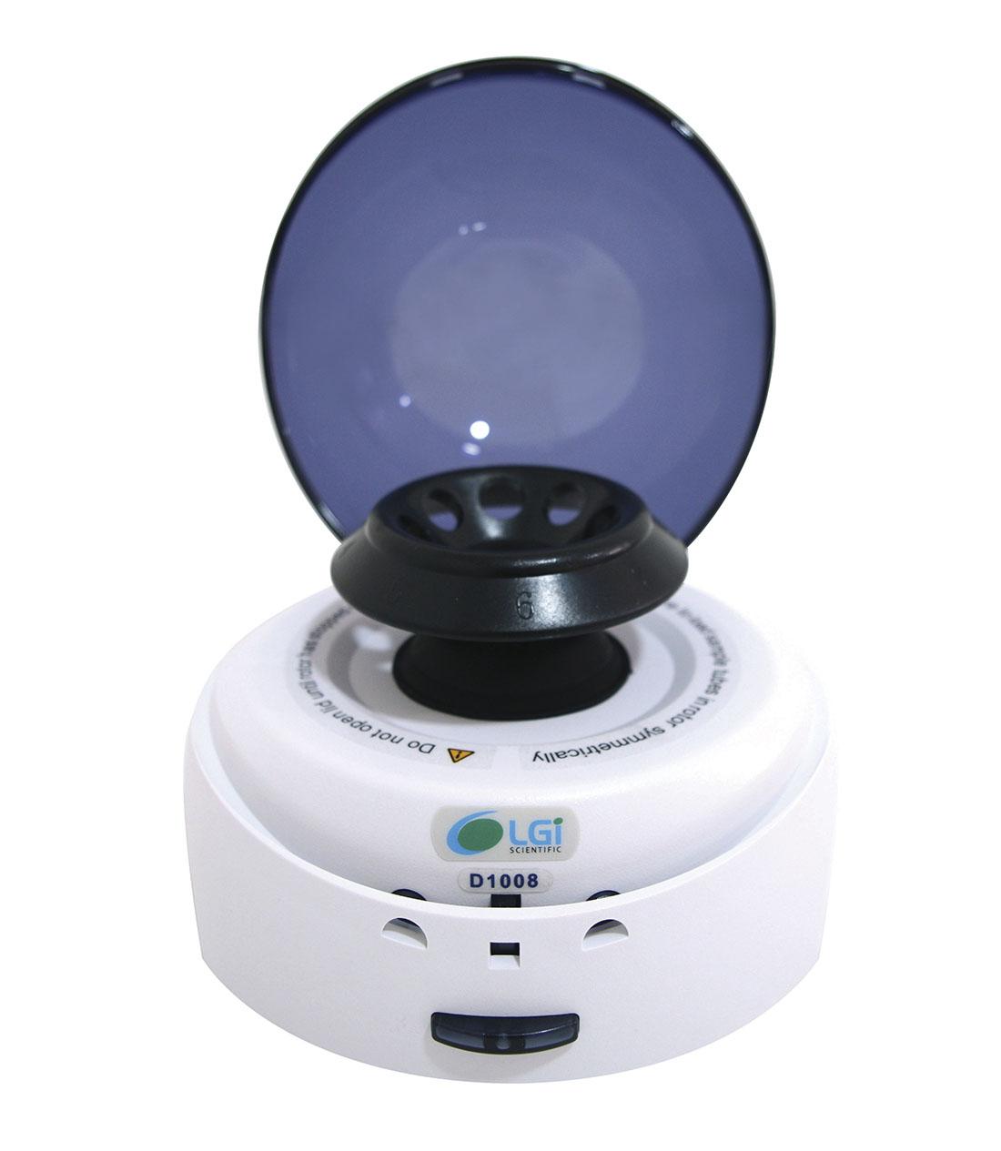MICROCENTRIFUGA TAMPA AZUL  7000 RPM - LGI SCIENTIFIC - Cód. LGI-MC-1008B