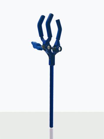 PINÇA 3 DEDOS REVESTIDOS EM PVC - Laborglas - Cód. 9903070