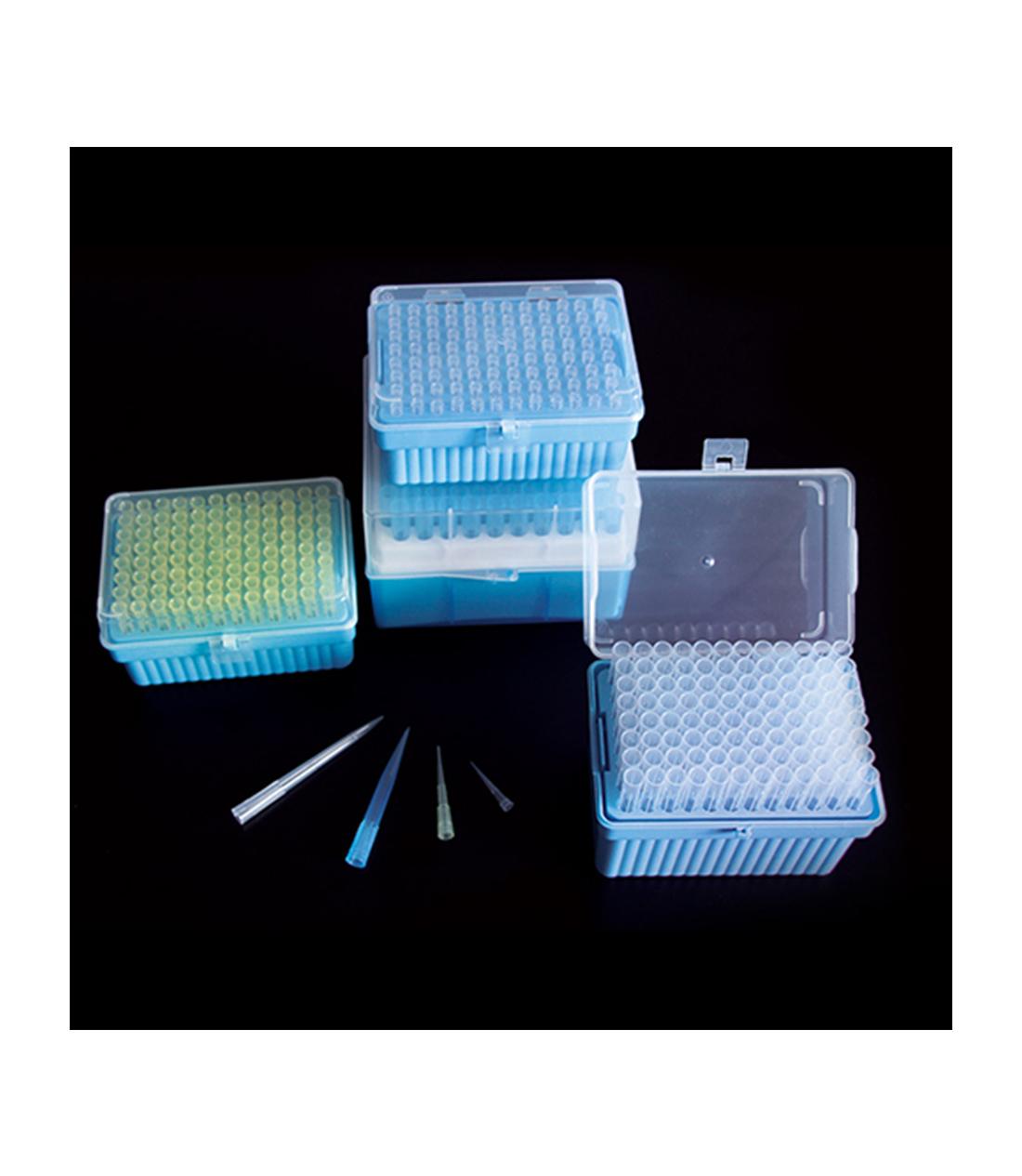 PONTEIRAS PARA MICROPIPETA COM RACK 10 MICROLITROS - Biologix - Cód. 21-0010